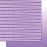 Bella Blvd - Besties Collection - 12 x 12 Double Sided Paper - Plum Hearts & Ombre