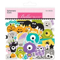 Bella Blvd - Monsters and Friends Collection - Ephemera - Icons