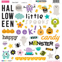 Bella Blvd - Monsters and Friends Collection - 12 x 12 Chipboard Icons