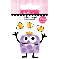 Bella Blvd - Monsters and Friends Collection - Stickers - Bella Pops - Candy Bandit