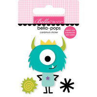 Bella Blvd - Monsters and Friends Collection - Stickers - Bella Pops - Little Monster
