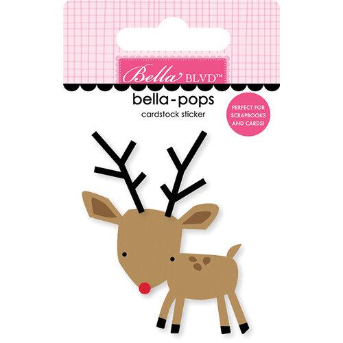 Bella Blvd - Fa La La Collection - Stickers - Bella Pops - Reindeer