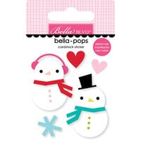 Bella Blvd - Fa La La Collection - Stickers - Bella Pops - Snow In Love