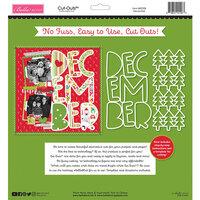 Bella Blvd - Fa La La Collection - Cut Outs - December