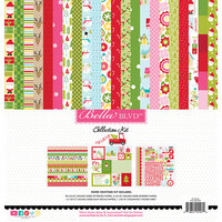 Bella Blvd - Fa La La Collection - 12 x 12 Collection Kit