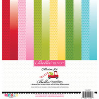 Bella Blvd - Fa La La Collection - Besties - 12 x 12 Paper Pack
