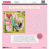 Bella Blvd - Besties Collection - Cut Outs - Love You Lots