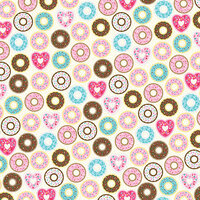 Bella Blvd - My Candy Girl Collection - 12 x 12 Double Sided Paper - Not Sharing