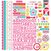 Bella Blvd - My Candy Girl Collection - 12 x 12 Cardstock Stickers - Doohickey