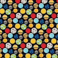 Bella Blvd - To The Moon Collection - 12 x 12 Double Sided Paper - Solar System
