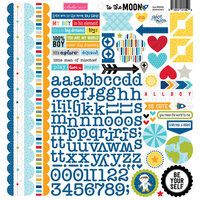 Bella Blvd - To The Moon Collection - Doohickey - Cardstock Stickers