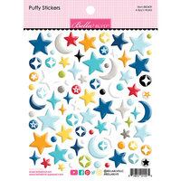 Bella Blvd - To The Moon Collection - Puffy Stickers - A Boy's World