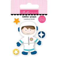 Bella Blvd - To The Moon Collection - Stickers Bella Pops - Space Boy