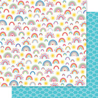 Bella Blvd - You Are My Sunshine Collection - 12 x 12 Double Sided Paper - Feeling Sunny