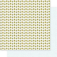 Bella Blvd - You Are My Sunshine Collection - 12 x 12 Double Sided Paper - Bee Youtiful