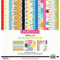 Bella Blvd - You Are My Sunshine Collection - 12 x 12 Collection Kit