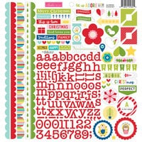 Bella Blvd - Let Us Adore Him Collection - 12 x 12 Cardstock Stickers - Doohickey
