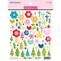 Bella Blvd - Let Us Adore Him Collection - Puffy Stickers - Joy