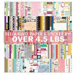 Bella Blvd - The 4.5 Pound Paper and Sticker Kit