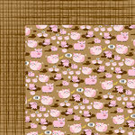 Bella Blvd - Barnyard Collection - 12 x 12 Double Sided Paper - Oink Oink