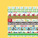 Bella Blvd - Barnyard Collection - 12 x 12 Double Sided Paper - Borders