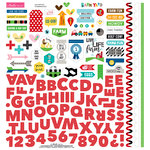 Bella Blvd - Barnyard Collection - 12 x 12 Cardstock Stickers - Fundamentals