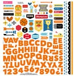 Bella Blvd - Basketball Collection - 12 x 12 Cardstock Stickers - Fundamentals