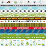Bella Blvd - Bug Explorer Collection - 12 x 12 Double Sided Paper - Borders