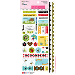 Bella Blvd - Bug Explorer Collection - Cardstock Stickers - Sticky Mix