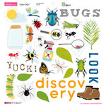 Bella Blvd - Bug Explorer Collection - Chipboard Icons