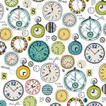 Bella Blvd - Dad Style Collection - 12 x 12 Double Sided Paper - Grandpa's Pocketwatch