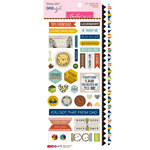 Bella Blvd - Dad Style Collection - Cardstock Stickers - Sticky Mix