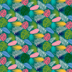 Bella Blvd - Island Escape Collection - 12 x 12 Double Sided Paper - Good Vibes