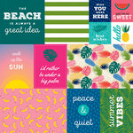 Bella Blvd - Island Escape Collection - 12 x 12 Double Sided Paper - Daily Details