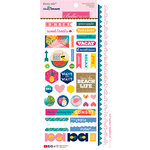 Bella Blvd - Island Escape Collection - Cardstock Stickers - Sticky Mix