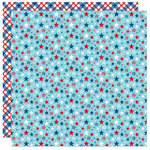 Bella Blvd - Fireworks and Freedom Collection - 12 x 12 Double Sided Paper - Patriotic