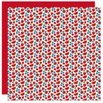 Bella Blvd - Fireworks and Freedom Collection - 12 x 12 Double Sided Paper - Juicy Fruits