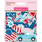Bella Blvd - Fireworks and Freedom Collection - Ephemera - Icons