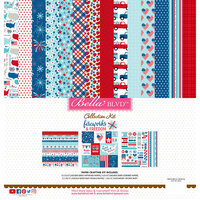 Bella Blvd - Fireworks and Freedom Collection - 12 x 12 Collection Kit