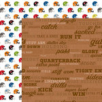 Bella Blvd - Football Collection - 12 x 12 Double Sided Paper - Call the Play
