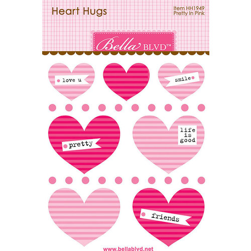 Bella Blvd - Legacy Collection - Heart Hugs - Pretty in Pink