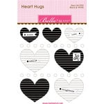 Bella Blvd - Legacy Collection - Heart Hugs - Black and White