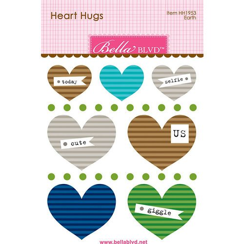 Bella Blvd - Legacy Collection - Heart Hugs - Earth