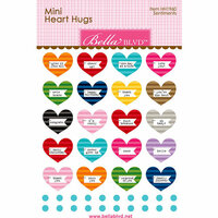Bella Blvd - Legacy Collection - Heart Hugs - Sentiments