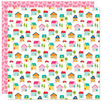 Bella Blvd - Home Sweet Home Collection - 12 x 12 Double Sided Paper - Home Sweet Home