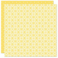 Bella Blvd - Home Sweet Home Collection - 12 x 12 Double Sided Paper - Mosaic Tile