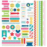 Bella Blvd - Home Sweet Home Collection - Doohickey - Cardstock Stickers