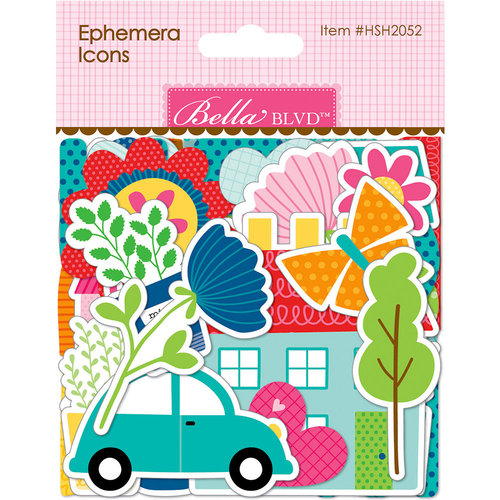 Bella Blvd - Home Sweet Home Collection - Ephemera - Icons
