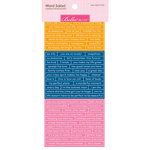 Bella Blvd - Legacy Collection - Cardstock Stickers - Word Salad