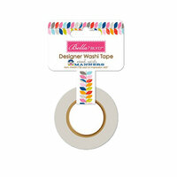 Bella Blvd - Mind Your Manners Collection - Washi Tape - Leaf an Impression